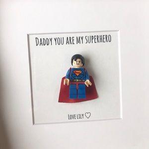 🦄 Personalize superhero picture ❤️ perfect gift